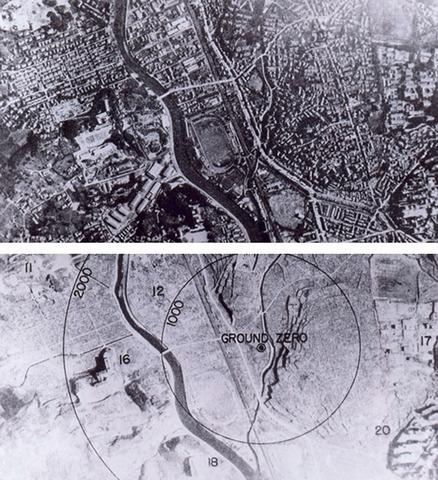 Atomic Bomb Dropped on Hiroshima and Nagasaki Three Days Later