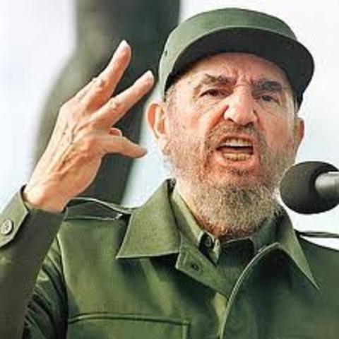 Fidel Castro comes to power in Cuba
