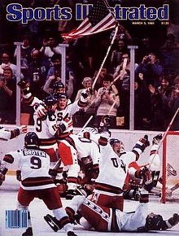 1980 Olympic Hockey game