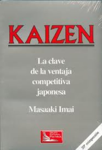 Kaizen, La Clave de la Ventaja Competitiva Japonesa - Masaaki Imai