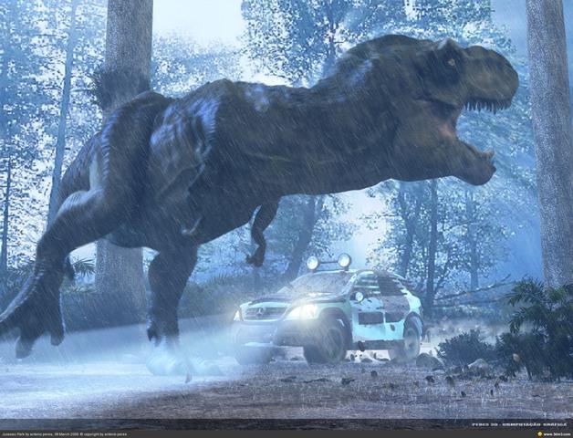 Jurassic Park und Toy Story
