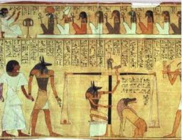 Development of writing 3500 BC