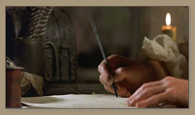 Invention of Quill Pens