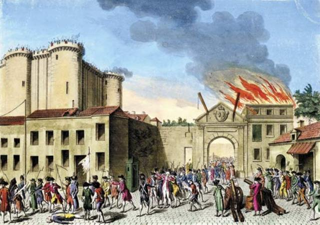 A celebration to the one year anniversary of the fall of the Bastille
