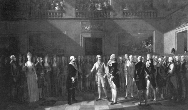 The Declaration of Pillnitz where Austria and Prussia threatened to act if the king and his family was harmed.