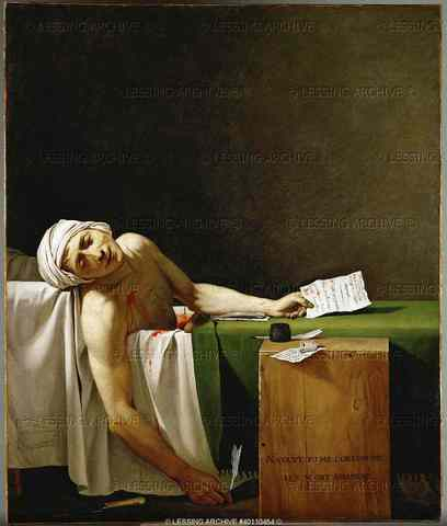 Jean Paul Marat was assassinated by Charlotte Corday