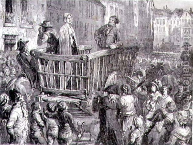 Charlotte Corday was executed