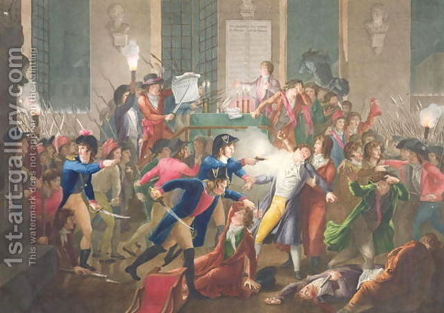 Robespierre was arrested by the National Convention