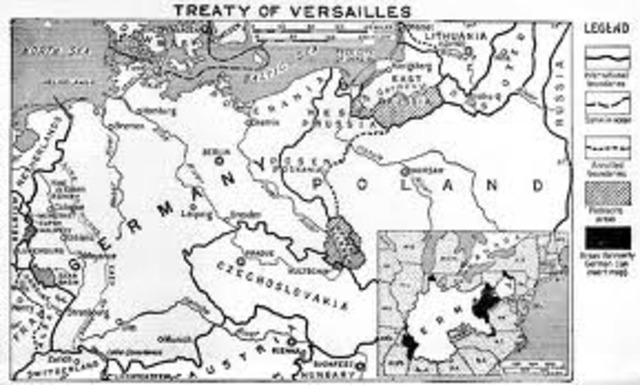 Treaty of versailles and Poland