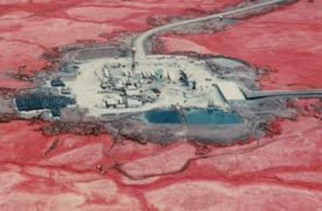 ensayos nucleares en alaska
