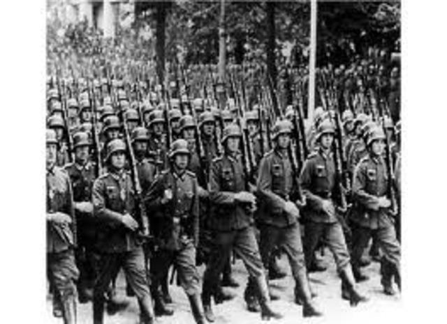 Germany troops enter Rhineland