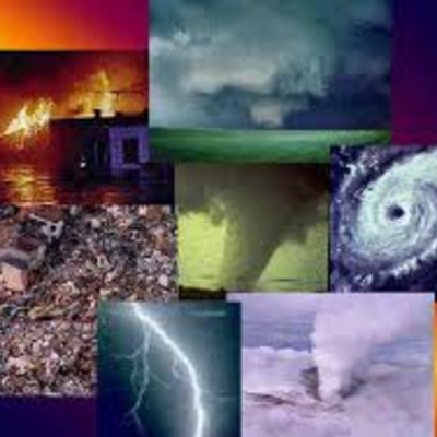 Natural Disasters timeline