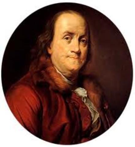 Nacimiento de Benjamin Franklin