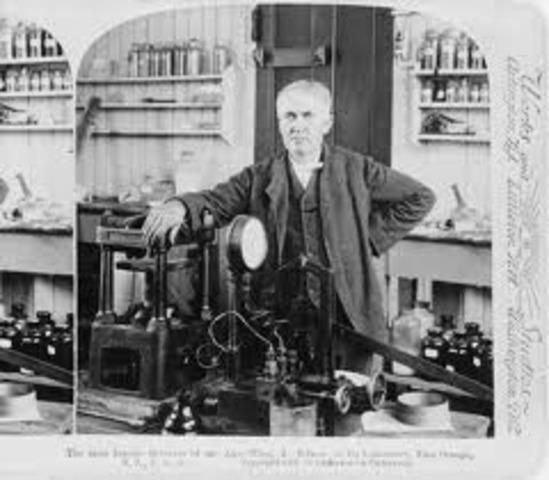 Edison Inventa el Vitoscopio