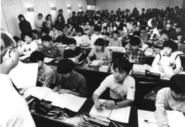 The history of education in Japan