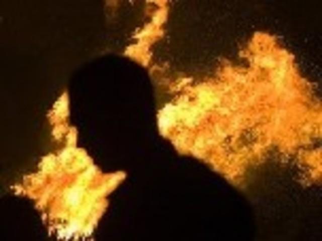 произведён поджог  медресе «Баталл Челеби»