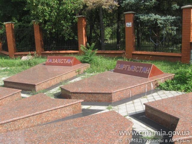 осквернен мемориальный комплекс в память о жертвах Депортации крымскотатарского народа