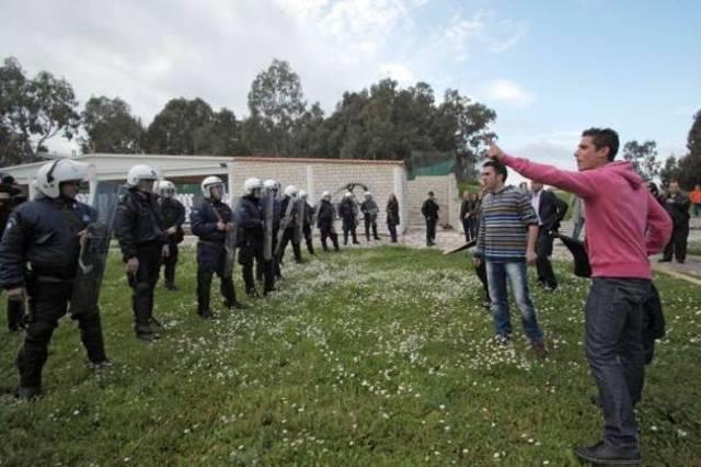 Ένταση στο Μεσολόγγι σε διαμαρτυρία για το σχέδιο «Αθηνά»