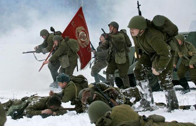 Soviet Forces overtake Germans