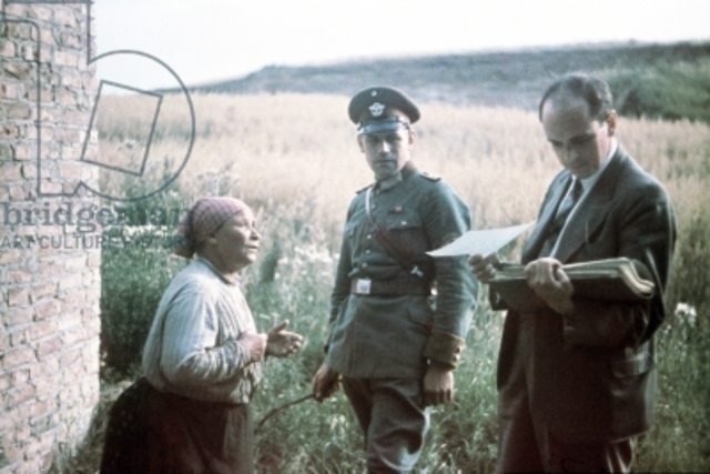 German gypsies deported to Auschwitz