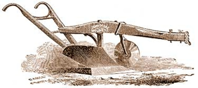 First Iron Plow