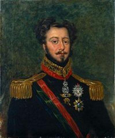 D. Pedro é reconhecido como legítimo rei de Portugal, com o título de D. Pedro IV