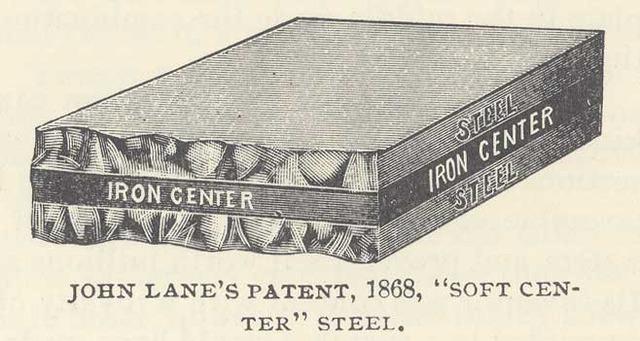 "First ""Soft Center"" Steel Plow"