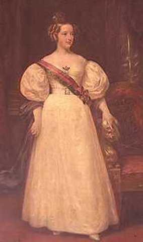 D. Pedro IV abdica a favor da filha Maria