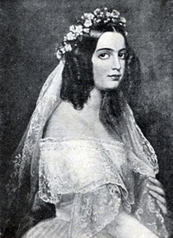 A infanta D. Isabel Maria, torna-se regente em nome de D. Maria II