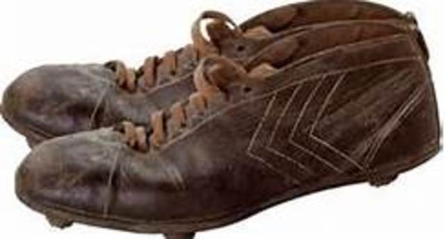 The first cleat