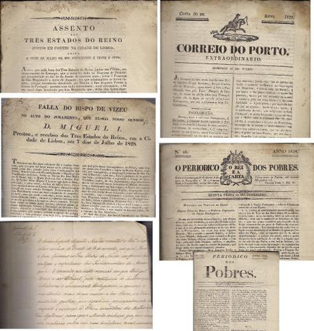 3 de Maio - Convocação dos Três Estados do Reino, à maneira tradicional.