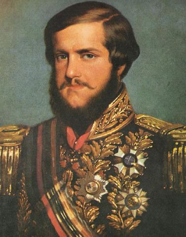 Abdicação de D. Pedro como imperador do Brasil no Rio