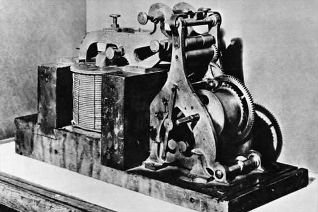 Construcciòn Del Primer Telègrafo