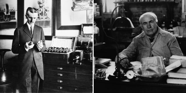Tesla comienza a trabajar con Thomas Edison en París, Francia