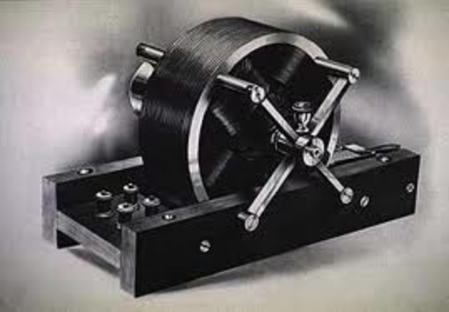 Tesla crea el primer motor de AC