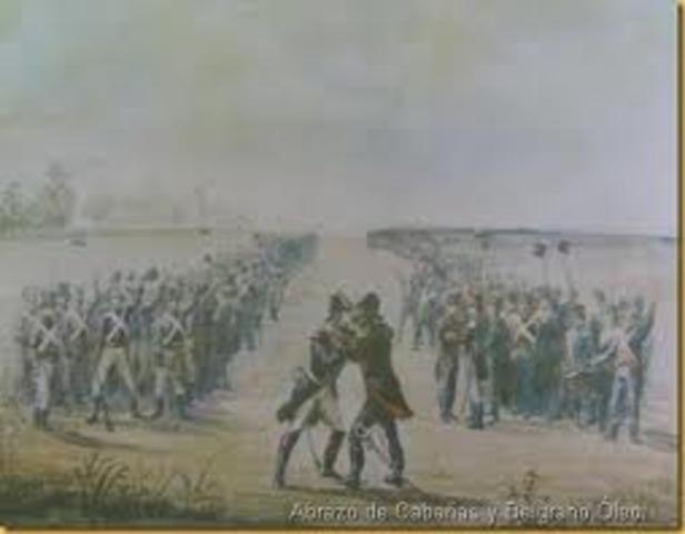 Batalla de Cerro Porteño(Paraguay)