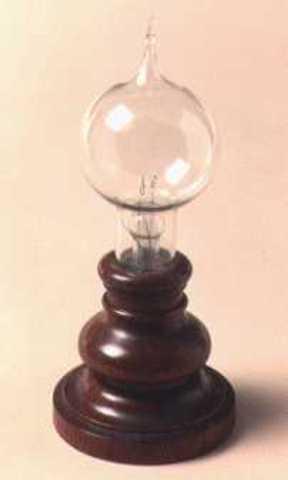 Primera Lámpara Incandescente