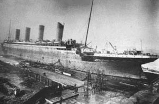 Construcción y hundiminto del Titanic