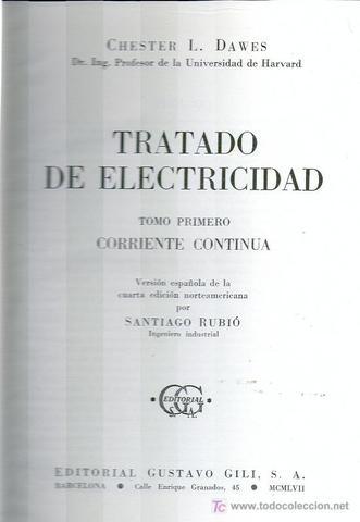 Tratado de electricidad
