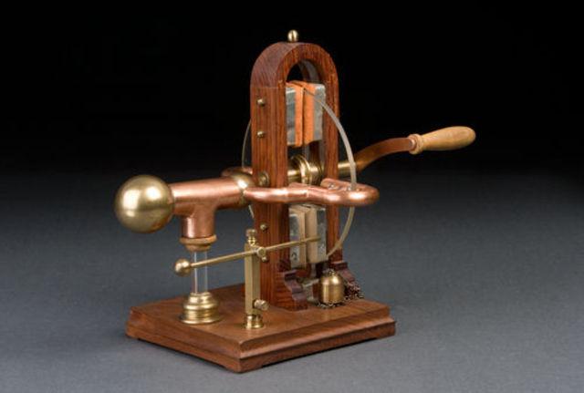 Maquina electrostatica