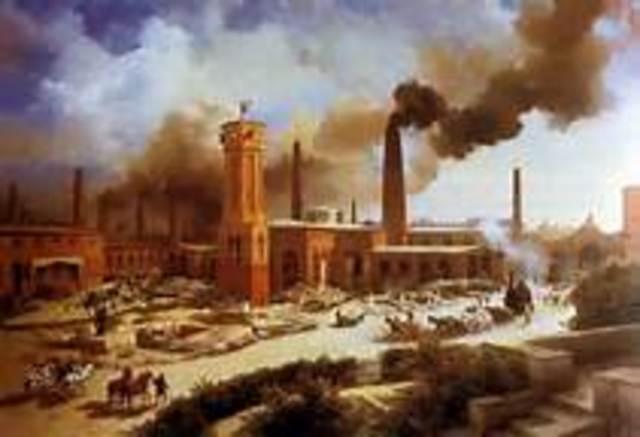 Wave 2: Industrial Revolution 1750-1955
