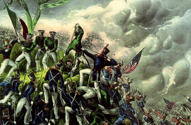 Grant Serves in Mexican war under Gen. Zachary Taylor.