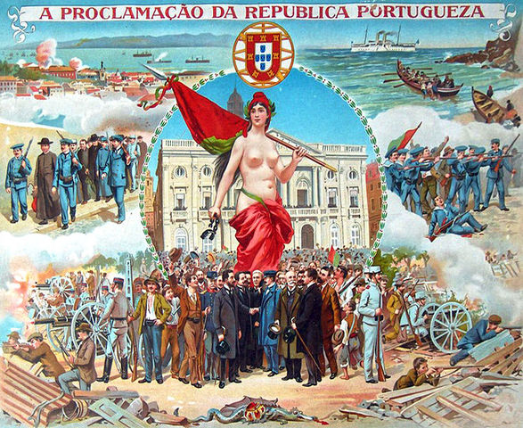Portuguese monarchy abolished in favour of republic