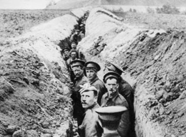First World War-Germany/Austria vs Britain/France/Russia