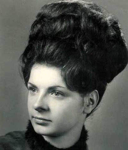 Long Hairstyles in the 1950's