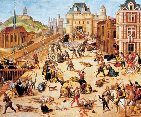 "Estallan las ""Guerras de religión"" en Francia"