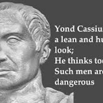 JULIUS CAESAR - Shakespeare timeline