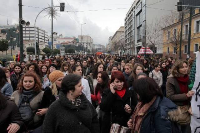 Διαμαρτυρία με αποκλεισμό για το σχέδιο «Αθηνά»
