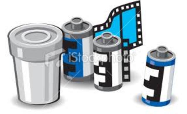 Invention of photographic film