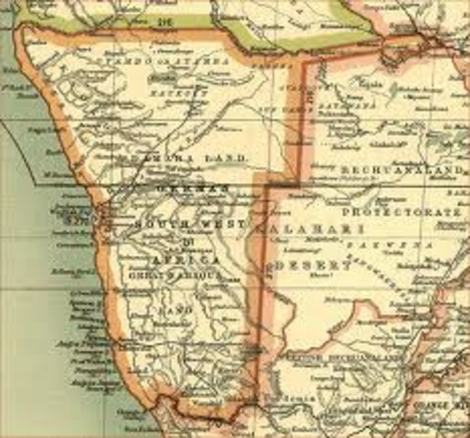 south west africa